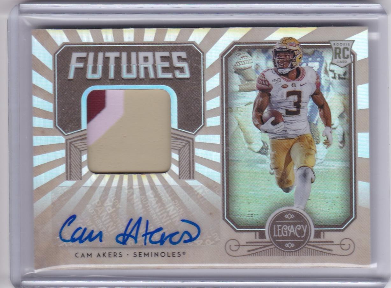 Cam Akers 2020 Legacy Futures Patch Autograph D 399 Cardczar Cardczar